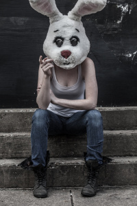 Personal project - White Rabbit: Snapshot on a stoop