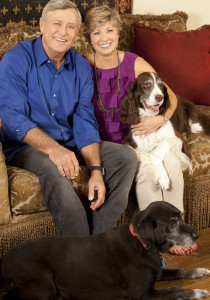 At home with Nancy Campbell and her family