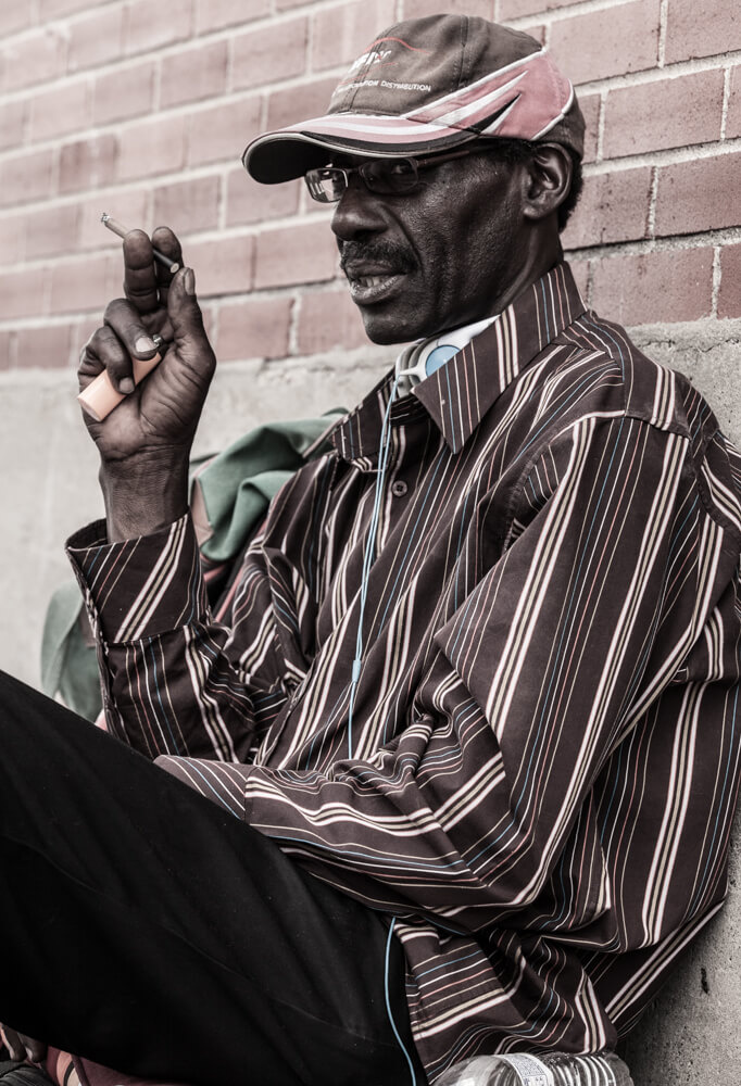 Only Temporary - Homeless in Dallas: Older man things about his experience