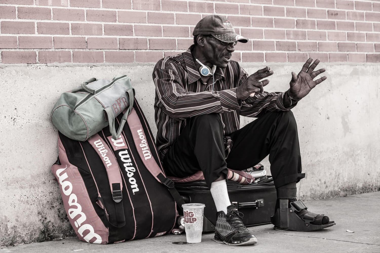 Only Temporary - Homeless in Dallas: Older man tells his story