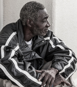 Only Temporary - Homeless in Dallas: Older man things about his life