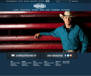 Panhandle Website Promo with World Champion Rodeo Star Tuf Cooper